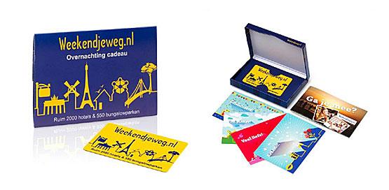 Weekendjeweg Cadeau Card
